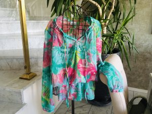 0039 Italy Carmen Blouse multicolored