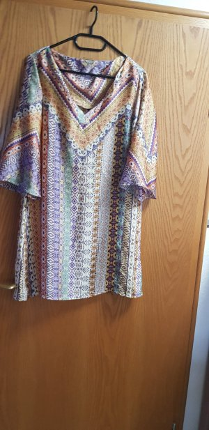 Orsay Vestido tipo túnica multicolor