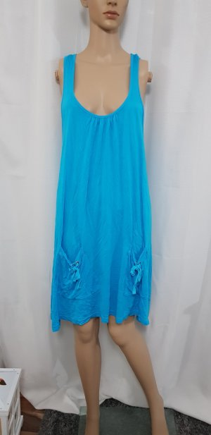 Beach Time Top light blue-turquoise
