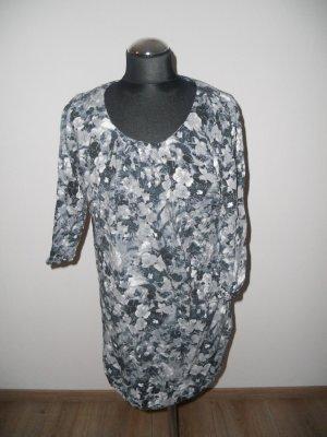 Vero Moda Blusa larga violeta oscuro-azul pálido
