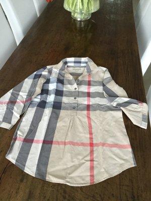 Burberry Blusa de túnica multicolor