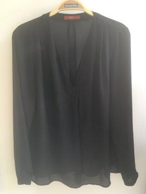 Tunika von Esprit. Schwarz leicht transparent Größe S