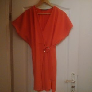 Guess Tunic neon orange polyester