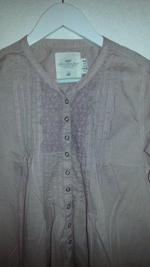 Tunika von H&M L.O.G.G. , Zartrose - Mini - Kleid - Bluse Gr.38