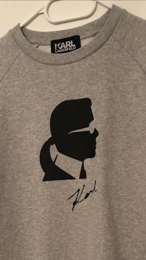 Karl Lagerfeld Tunic grey-black