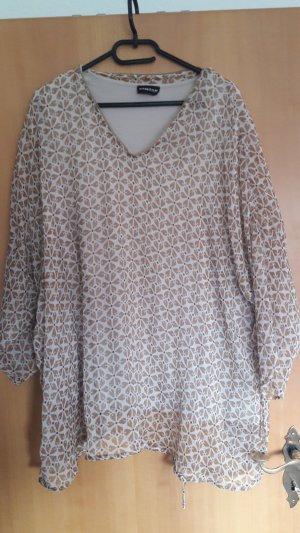 Samoon by Gerry Weber Tunique-blouse gris brun-marron clair