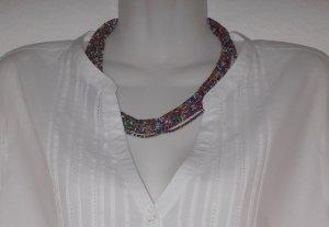 Tunikabluse Bluse in weiß