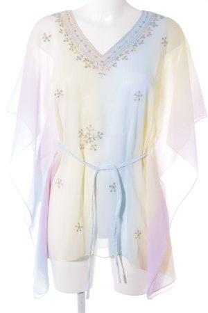 Tunique-blouse multicolore Look de plage