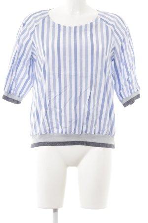Tunique-blouse motif rayé style décontracté