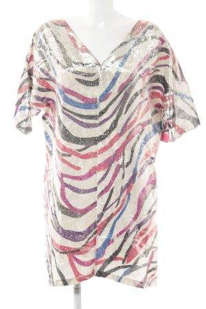 Tunikakleid abstraktes Muster extravaganter Stil