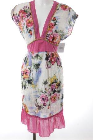 Robe tunique motif de fleur Look de plage