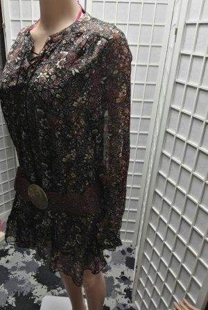 Raga Vestido tipo túnica multicolor Poliéster