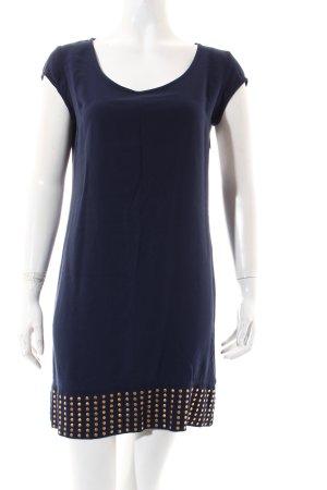 Tunikakleid dunkelblau klassischer Stil