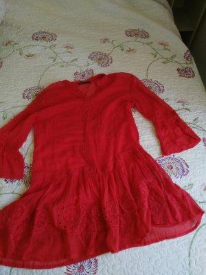 Mudo Collection Robe tunique rouge