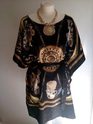 Tunikakleid im Hermes Muster