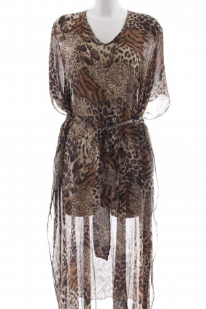 Tunic Dress leopard pattern animal print