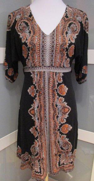 Tunikakleid, Oriental-Look, Viskose, NEU