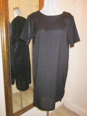Tunikakleid schwarz neu Gr 42 Asymetrisch Klassisch