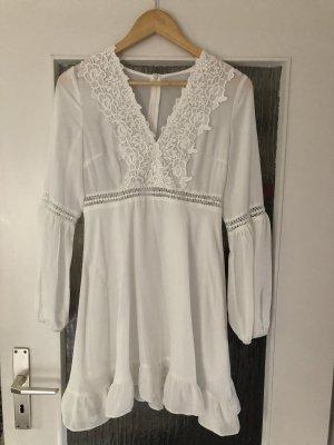 Robe tunique blanc