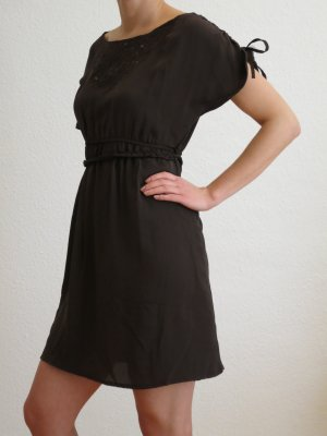 Lefties Tunic Dress dark brown
