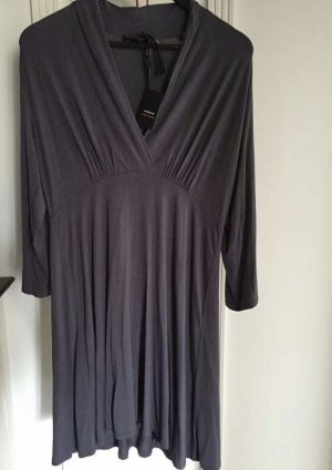 Repeat Vestido tipo túnica gris antracita