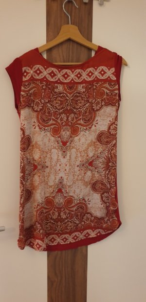 Promod Tunic beige-red