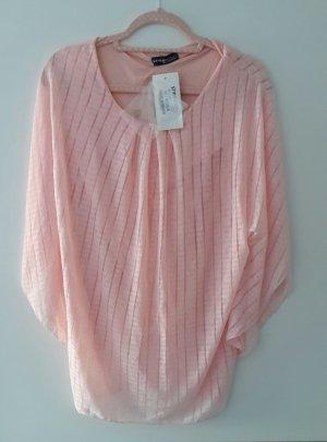 Camicia a tunica rosa pallido-rosa chiaro