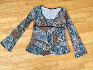 Tunike#Bluse#Shirt#Langarm