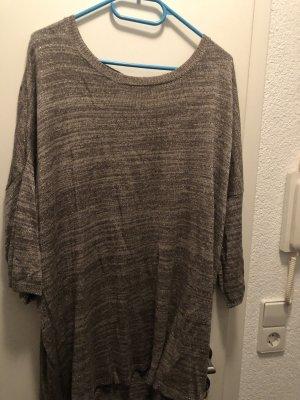 Vero Moda Vestido tipo túnica color bronce-marrón grisáceo