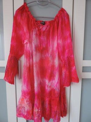 Tunkia Bluse Strandkleid von Pink Planet Gr. M. 42