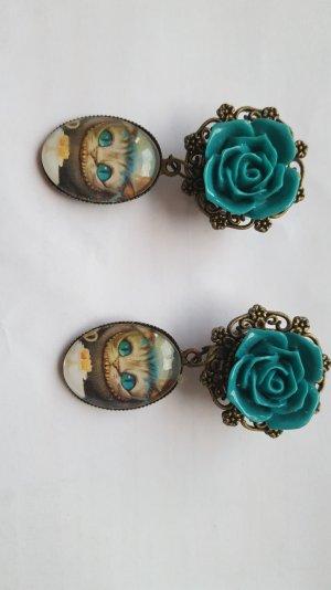 Clou d'oreille turquoise