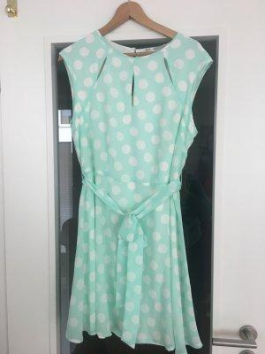 Tupfen Kleid Aquah