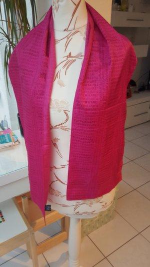 Bufanda de seda rosa