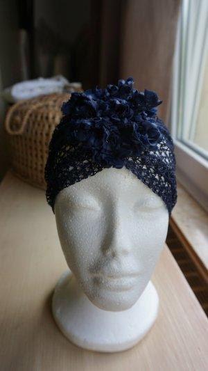 Bijoux pour la tête bleu foncé