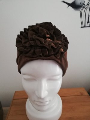 Beanie bronze-colored
