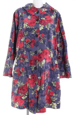 Turbulence Lange Jacke florales Muster Romantik-Look