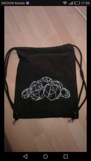 Stoffen tas wit-zwart