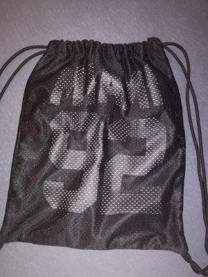 Pouch Bag white-black
