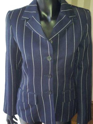 Waistcoat dark blue linen