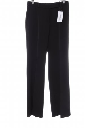 Turnover Marlene Trousers black '20s style