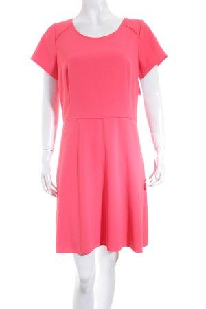 Turnover Minikleid lachs minimalistischer Stil