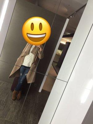 Turnover Oversized Jacket camel