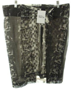 Turnover Rock weiß-dunkelgrün abstraktes Muster Schleifen-Detail