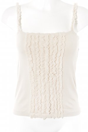 Turnover Spaghetti Strap Top dusky pink casual look