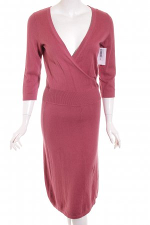 Turnover Strickkleid himbeerrot Casual-Look