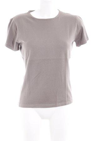 Turnover T-Shirt beige minimalistischer Stil