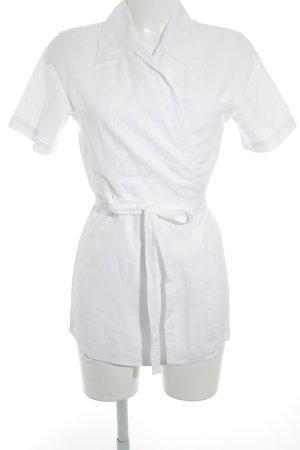 Turnover Camicetta aderente bianco sporco elegante