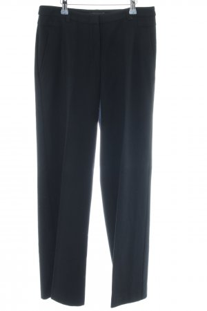Turnover Wollhose schwarz Business-Look