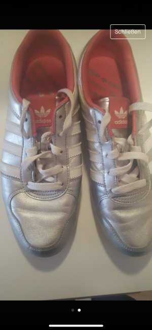 Adidas Originals Sneaker stringata argento