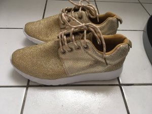 Turnschuhe Sneakers Gold gr 38